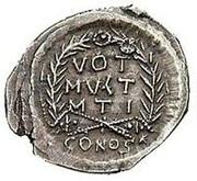 Siliqua - Anastasius I Dicorus (VOT MVLT MTI; Constantinopolis) – reverse