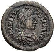 10 Nummi - Anastasius I Dicorus (CONCORDI; Nicomedia) – obverse