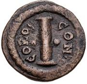 10 Nummi - Anastasius I Dicorus (CONCORDI; Constantinopolis; no Officina Letter, Small Module) – reverse