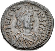 10 Nummi - Anastasius I Dicorus (Constantinopolis; Type I ✶) – obverse