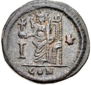 10 Nummi - Anastasius I Dicorus (Constantinopolis; Type I ✶) – reverse