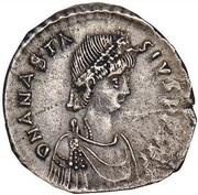 Miliarense - Anastasius I Dicorus (GLORIA ROMANORVM; Constantinopolis; Bust Right) – obverse