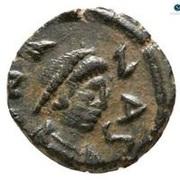 Nummus - Anastasius I Dicorus (Constantinopolis) – obverse