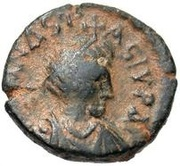 5 Nummi - Anastasius I Dicorus (Antioch; Type Є A?N) – obverse