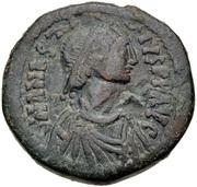 40 Nummi - Anastasius I Dicorus (Constantinopolis; Type ✶M✶, Small Module) -  obverse