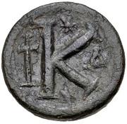 20 Nummi - Anastasius I Dicorus (Constantinopolis; Small Module) – reverse