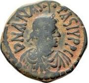20 Nummi - Anastasius I Dicorus (Antioch; Type AN/TX) – obverse