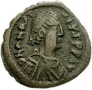20 Nummi - Anastasius I Dicorus (Nicomedia; Type ⁑, Large Module) – obverse