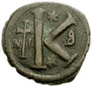 20 Nummi - Anastasius I Dicorus (Nicomedia; Type ⁑, Large Module) – reverse