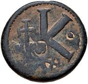 20 Nummi - Anastasius I Dicorus (Nicomedia; Small Module) – reverse