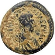 20 Nummi - Anastasius I Dicorus (Nicomedia; Type ✶, Small Module) – obverse
