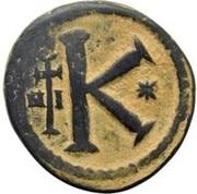20 Nummi - Anastasius I Dicorus (Nicomedia; Type ✶, Small Module) – reverse