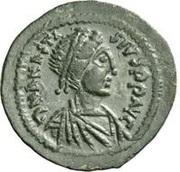 20 Nummi - Anastasius I Dicorus (Nicomedia; Type O Δ, Small Module) – obverse