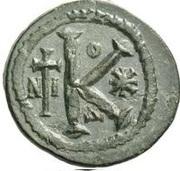20 Nummi - Anastasius I Dicorus (Nicomedia; Type O Δ, Small Module) – reverse