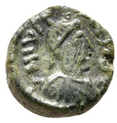 5 Nummi - Justinian I (Constantinopolis; Small Module) – obverse