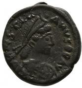 5 Nummi - Justinian I (Constantinopolis; Type ♰, Small Module) – obverse