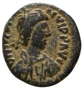 5 Nummi - Justinian I (Uncertain Mint) – obverse