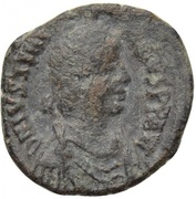 8 Nummi - Justinian I (Thessalonica; Type ☩) – obverse