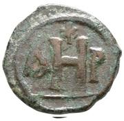 8 Nummi - Justinian I (Thessalonica; Type ☧) – reverse