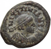 4 Nummi - Justinian I (Thessalonica) – obverse