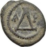4 Nummi - Justinian I (Thessalonica) – reverse