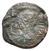 4 Nummi - Justinian I (Thessalonica; Type ☩) – obverse