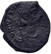 4 Nummi - Justinian I (Thessalonica; Type ☧) – obverse