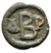 2 Nummi - Justinian I (Thessalonica) – reverse