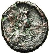 3 Nummi - Justinian I (Alexandria) – obverse