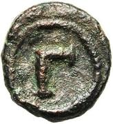 3 Nummi - Justinian I (Alexandria) – reverse