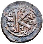 20 Nummi - Justinian I (Cyzicus) – reverse