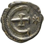 5 Nummi - Justinian I (Antioch; ✶) -  obverse