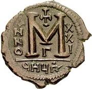 40 Nummi - Justinian I (Antioch; 9HЧΠº; Bust Facing) – reverse