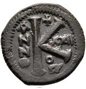 20 Nummi - Justinian I (Antioch; ºΠ∕; Bust Facing) – reverse