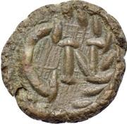 Nummus - Justinian I (Carthage; C N) – reverse