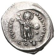 Miliarense - Justinian I (GLORIA ROMANORVM; Constantinopolis; Bust Left) – reverse