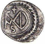 ½ Siliqua - Justinian I (Carthage; Monogram) – reverse