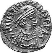 ½ Siliqua - Justinian I (VOT MVLT HTI; Carthage) – obverse