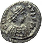 ¼ Siliqua - Justinian I (Carthage) – obverse