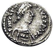 250 Nummi - Justinian I (Ravenna) – obverse