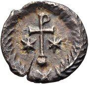 ½ Siliqua - Justinian I (Ravenna; ⳨) – reverse
