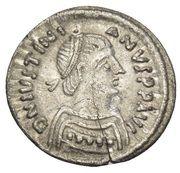 ¼ Siliqua - Justinian I (Ravenna; ⳨) – obverse