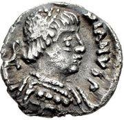 ¼ Siliqua - Justinian I (Ravenna; ✶) – obverse