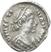 120 Nummi - Justinian I (Ravenna) – obverse