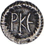 125 Nummi - Justinian I (Ravenna; Symbol) – reverse