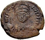 20 Nummi - Justinian I (Constantine in Numidia) – obverse
