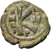 20 Nummi - Justinian I (Perugia; II) – reverse