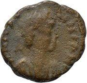 Nummus - Justinian I (Ravenna) – obverse