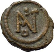 Nummus - Justinian I (Ravenna) – reverse