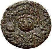 Nummus - Justinian I (Carthage) – obverse